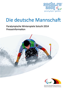 Paralympics Sotschi 2014 Presseinformation