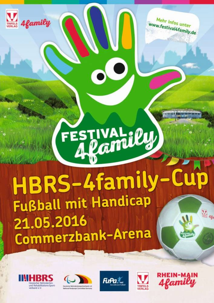 Plakat vom HBRS-4family-Cup