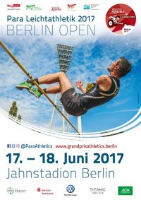 Plakat Leichtathletik Grand Prix in Berlin