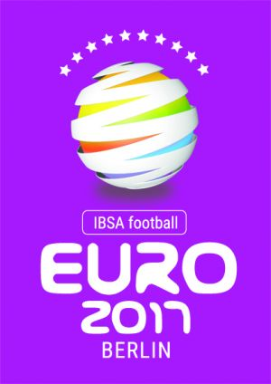 Logo IBSA football Euro 2011 Berlin