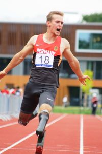 Johannes Floors beim Sprint