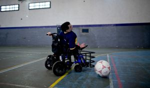 Powerchair Football © picture alliance