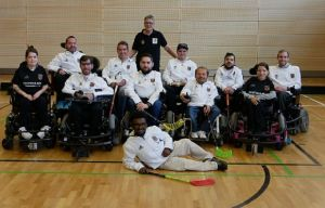 PowerChair Hockey mit WM-Platz 4 © Julian Wendel