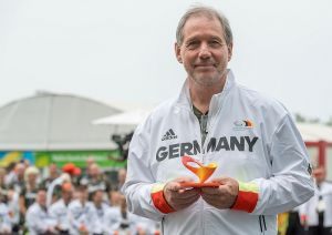 Dr. Karl Quade bei den Paralympics in Rio