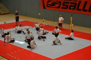 Training Germany Sitzvolleyball-EM
